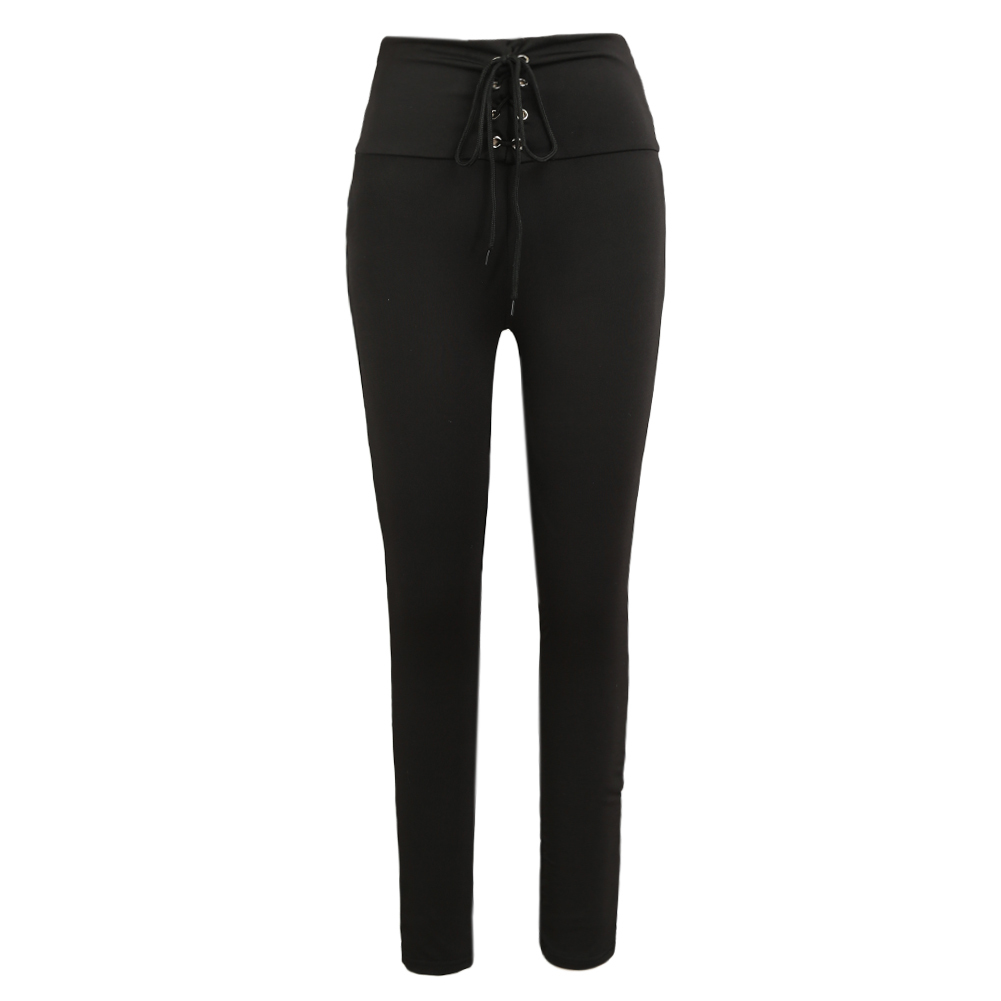 Women Sexy Winter Pencil Pants Casual High Waist Skinny Trousers Stretch Hot Leggings Slim Pants Black Pantalon Femme 2017