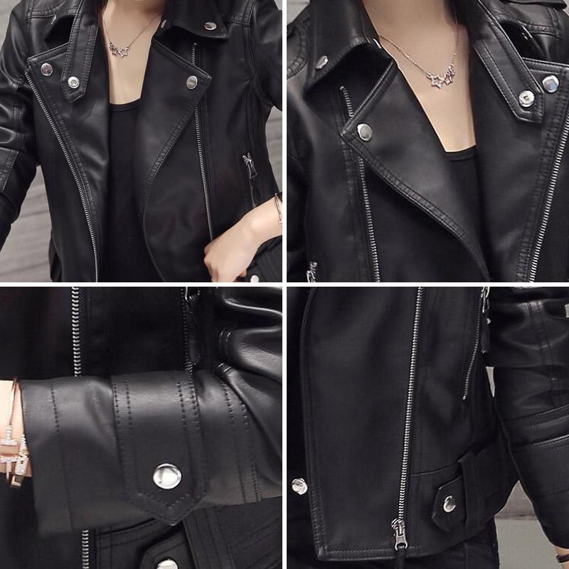 Donna-2018-New-Women-Faux-Leather-Jacket-Slim-Long-Sleeve-Faux-PU-Leather-Zipper-Coat-Lady (3)