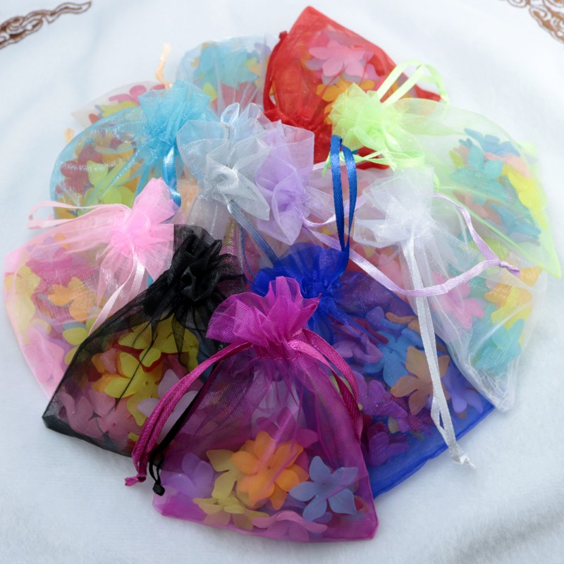 organza gift jewelry packaging bags pouches (257)