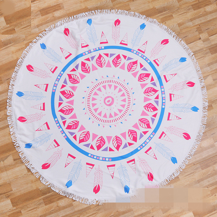 Round beach towel (2)