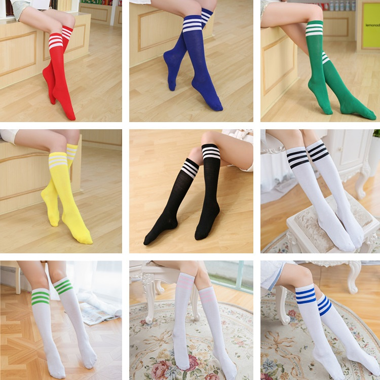 One Size Girls Womens Argentina Flamingos Over Knee Thigh High Stockings Cute Socks