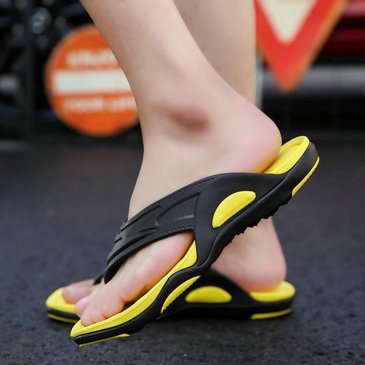 High Quality Quick Drying Soft Summer Sandals Beach Flip Flop Bath Skidproof Slider Casual Flat Eva Slipper (7)