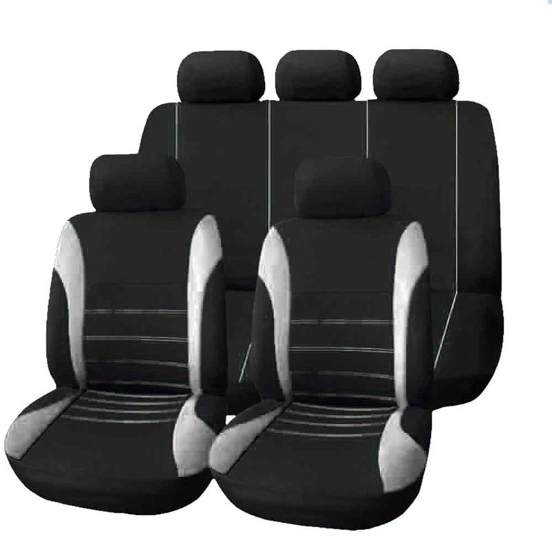 protectores frente Easy Fit cubiertas de asiento de coche Chaleco Negro