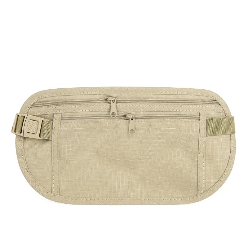 Anti-theft moyen taille sac /& ceinture-argent passeport sécurité pochette.