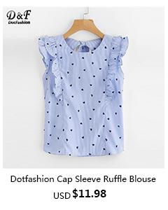Cap Sleeve Ruffle