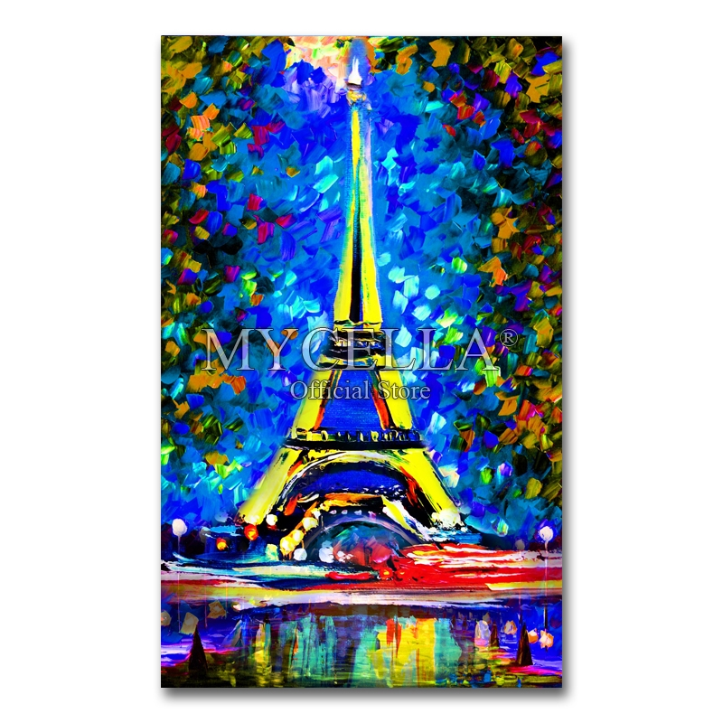 Paris Tower 5d Diy Diamond Painting Cross Stitch Full Square Embroidery Mosaic Scenery Pictures Rhinestones Home Decoration