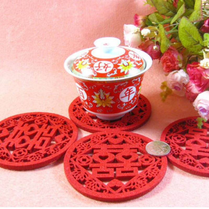 500pcs-Traditional-Chinese-Style-Double-Happiness-Coasters-Non-woven-Fabric-Wedding-Table-Decoratioon-Party-Favor-Gift (2)