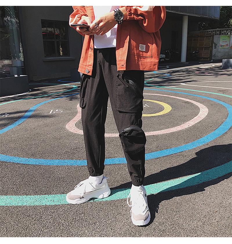 Pocket Tactical Fashions Men Hip Hop Pants Man (17)