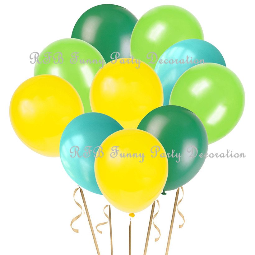 Boy or Girl First Birthday Party Supplies Dinosaur Theme Party Decorations Foil Number One Balloons Paper Flowers
