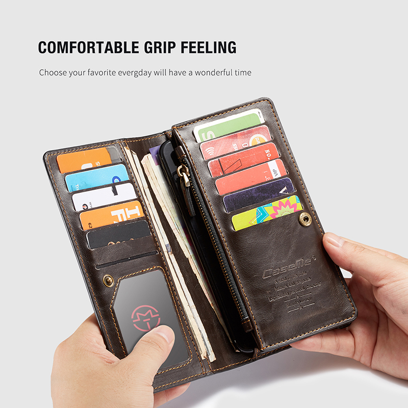 For iPhone 5 5s SE Phone Cases Luxury Leather Stand Flip Card Pocket Cover Back Case For iPhone 6 7 8 Plus X Universal Wallet Phone bag (7)
