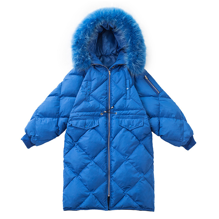 2018 Autumn And Winter New Product Ma'am Down Jackets Japan And South Korea Hair Lead Easy Long Fund Down Jackets parka coats for women Sale