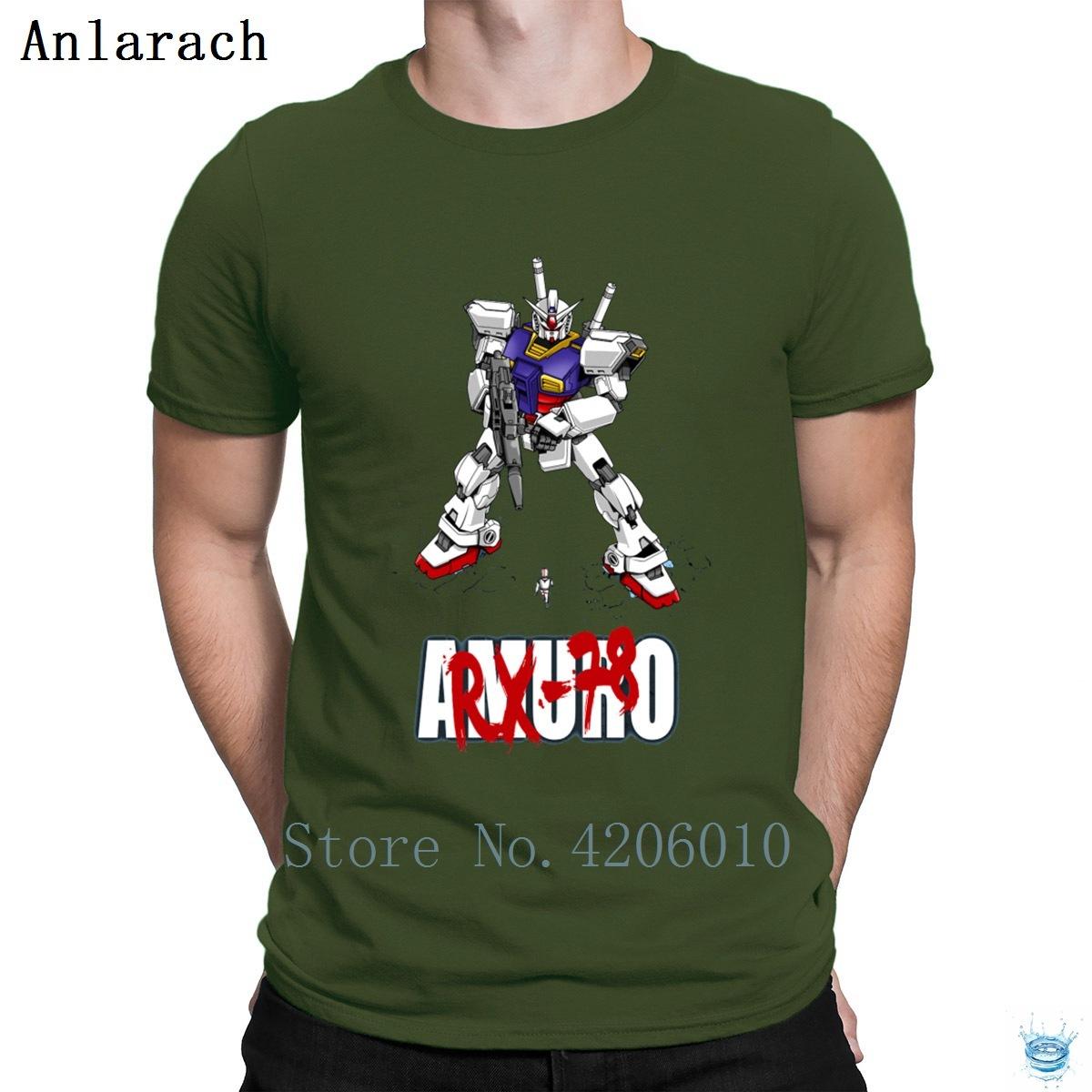 Gundam Rx 78 Tshirt À La Mode Designer Fit Vintage T Shirt Pour Hommes 100% Coton Costume Lumière Du Soleil Populaire