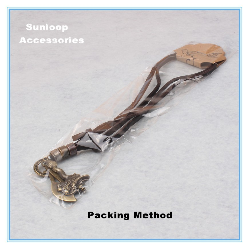 packing method necklace