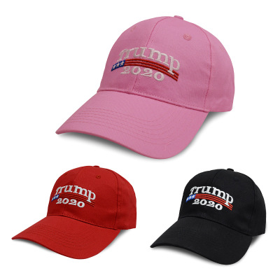 Embroidery Trump 2020 Make America Great Again Donald Trump Baseball Caps Hats Baseball Caps Adults Sports Hats Snapbacks