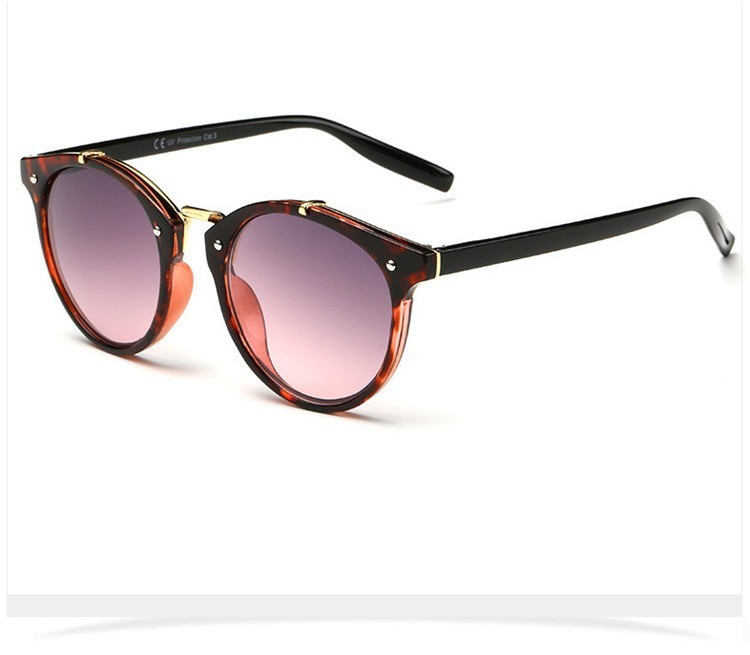 2016 Classic Brand Designer Sunglasses Women Men Retro Round Sun Glasses Woman shades Mirror Eyewear Lady Male Female Sunglass (38)