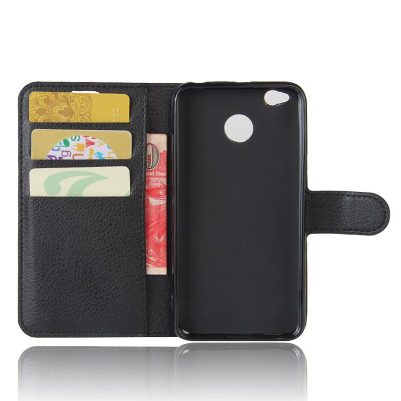 For Xiomi Xiaomi Redmi 4X Case 5.0 inch Wallet PU Leather Cover Phone Case For Xiaomi Redmi 4X 4 X Case Silicone Flip Back Bag (15)