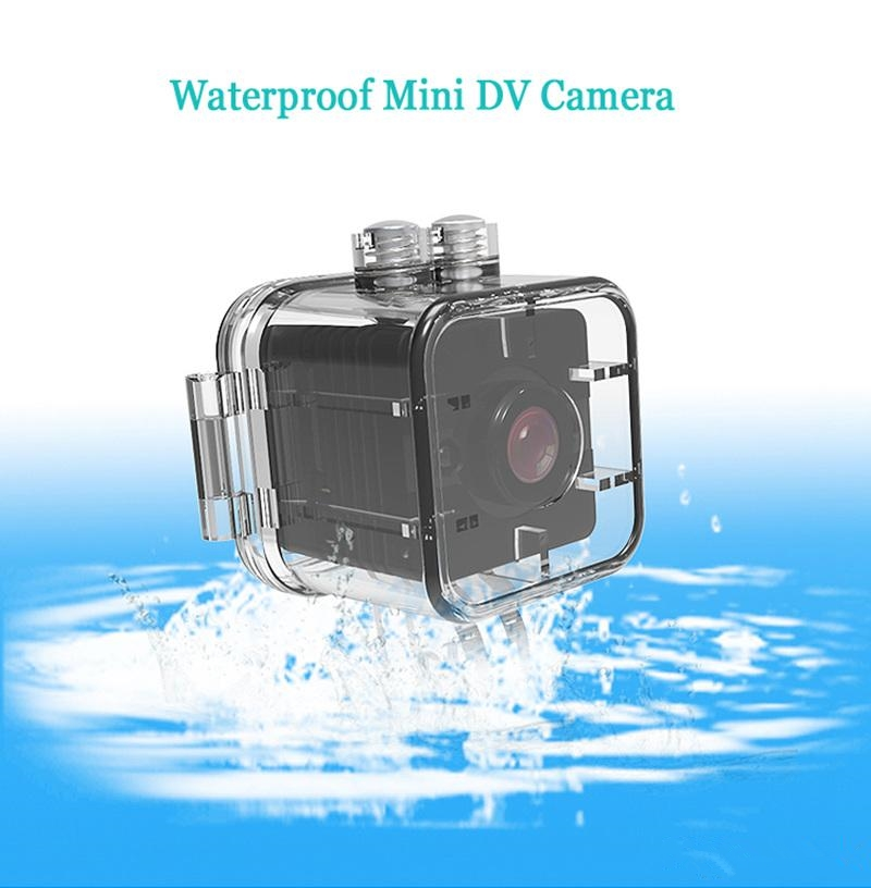 Mini HD 1080P DV Sport Action Camera Car Mini DVR Video Recorder Portable Camcorder Waterproof Micro Cam With Night Vision Motion Detector