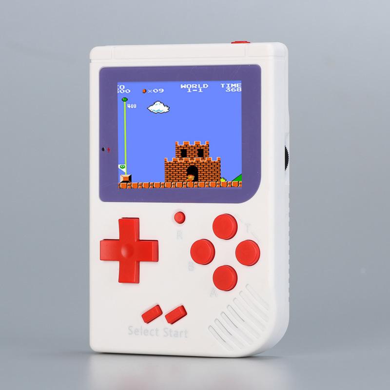 Yeni Retro Mini El Oyun Konsolu 8 Bit Renkli LCD Çocuklar Cep Oyun Oyuncu Perakende Kutusu ile 188 Klasik Oyunlar Taşınabilir Video Oyun ...