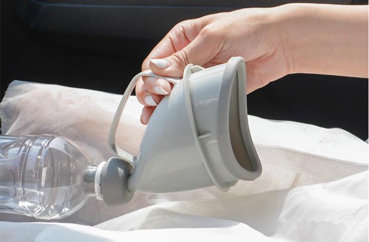 Réutilisable Portable Toilettes Voiture Voyage Camping Bateaux Urinoir Miction