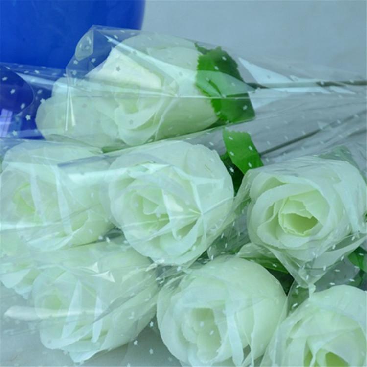 Ev Düğün dekorasyon Promosyon hediyeler yapay çiçekler yapay çiçekler Sevgililer Günü için tek gül Sevgiliye şeftali gül güller