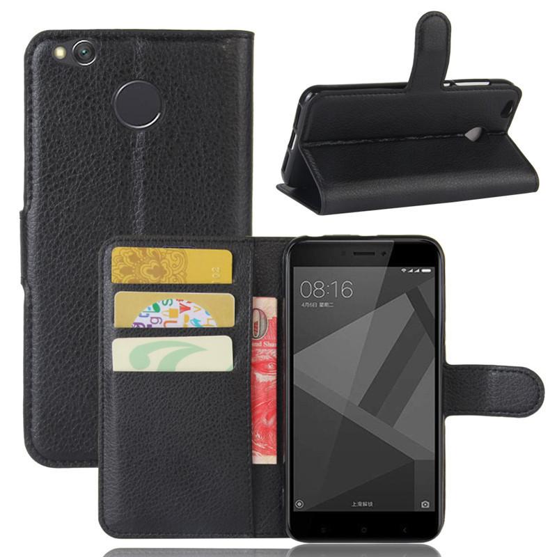 For Xiomi Xiaomi Redmi 4X Case 5.0 inch Wallet PU Leather Cover Phone Case For Xiaomi Redmi 4X 4 X Case Silicone Flip Back Bag (19)