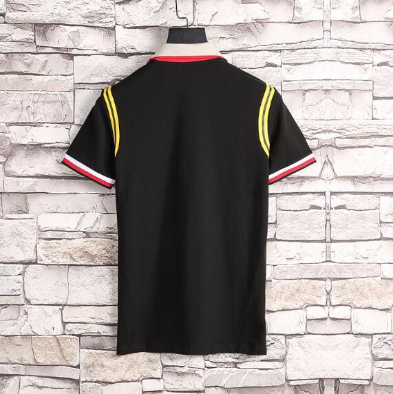 2018 summer new designer luxury brand clothing men fabric striped poloshirt polo embroidery 3D bee t-shirt casual women tshirt tee shirt