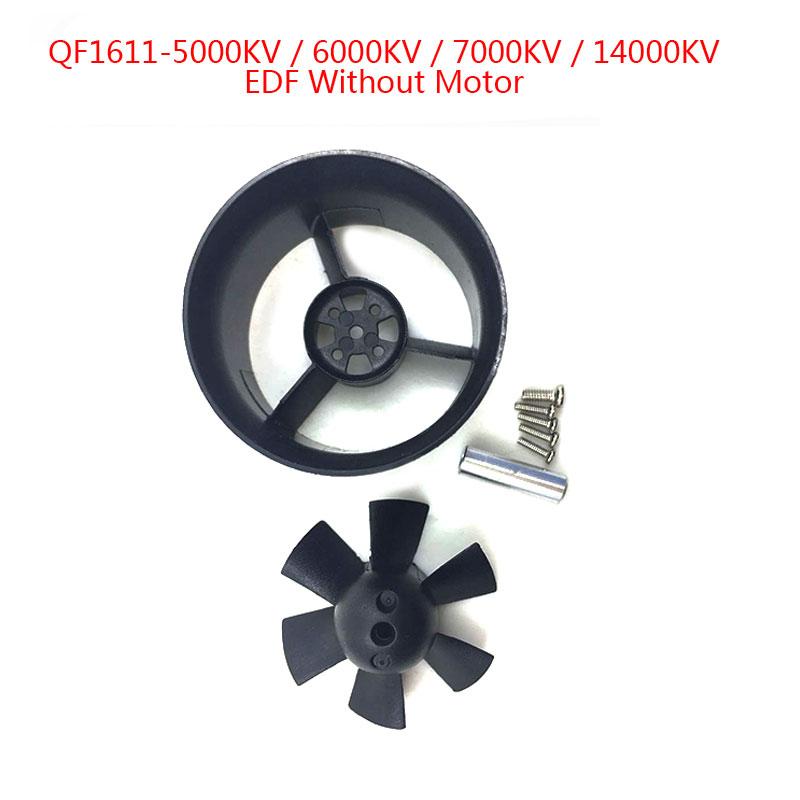 5 sätze QX-Motor Marke Neue QF1611 30mm EDF mit 6 Klingen Kanalventilator Ohne Motor Set Fit Für DIY Drone Zubehör Teile Großhandel