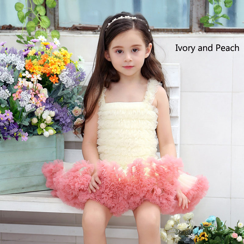 ivory and peach