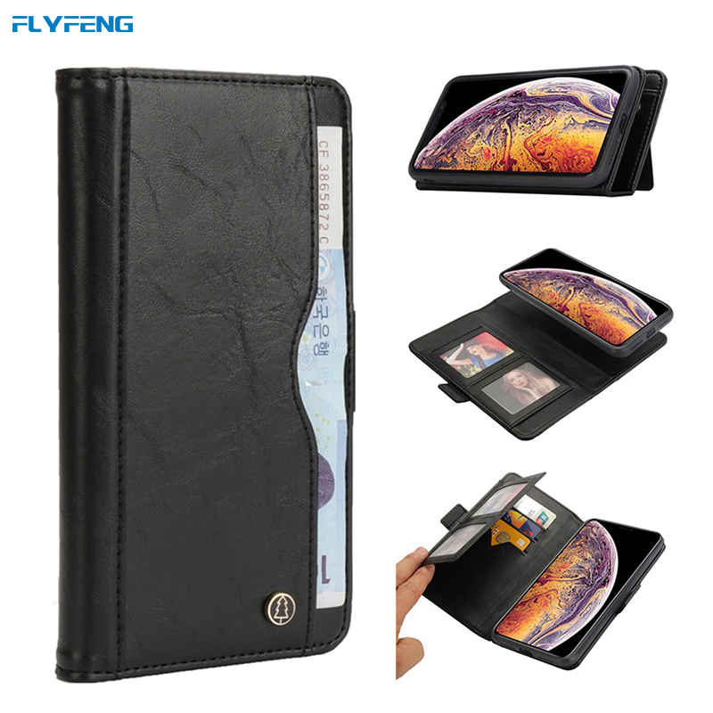 Luxury Flip Leather Stand Case for iPhone XS Max Case Wallet Book Card Phone Cover for iPhone X XR 10 Xsmax Cases Coques Fundas (3)