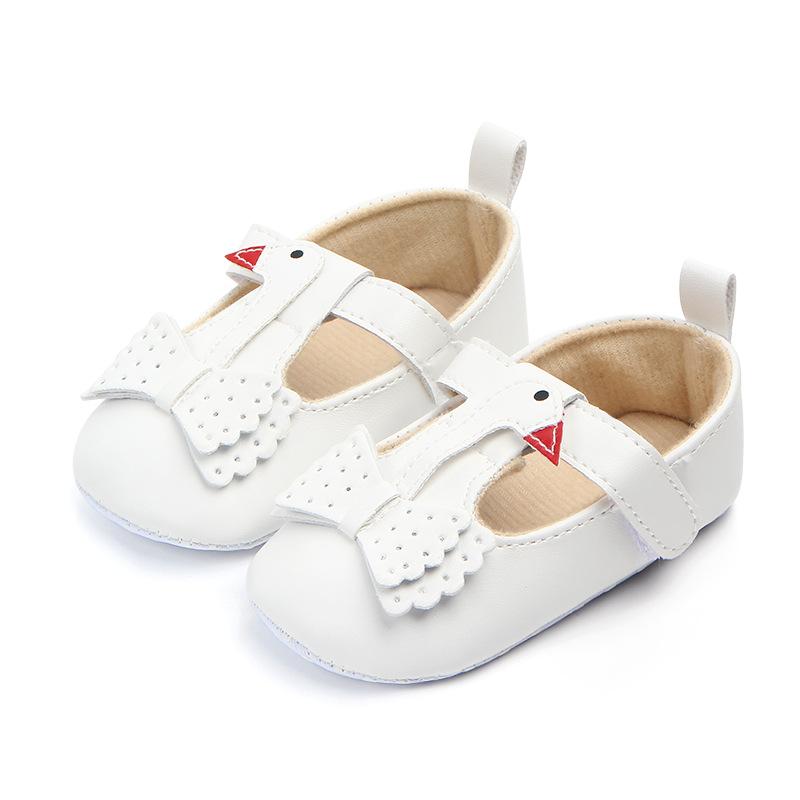 PU Spring / Autumn Infant Baby Shoes Moccasins Newborn Girls Booties Prewalker Walking Toddler Kids Shoes
