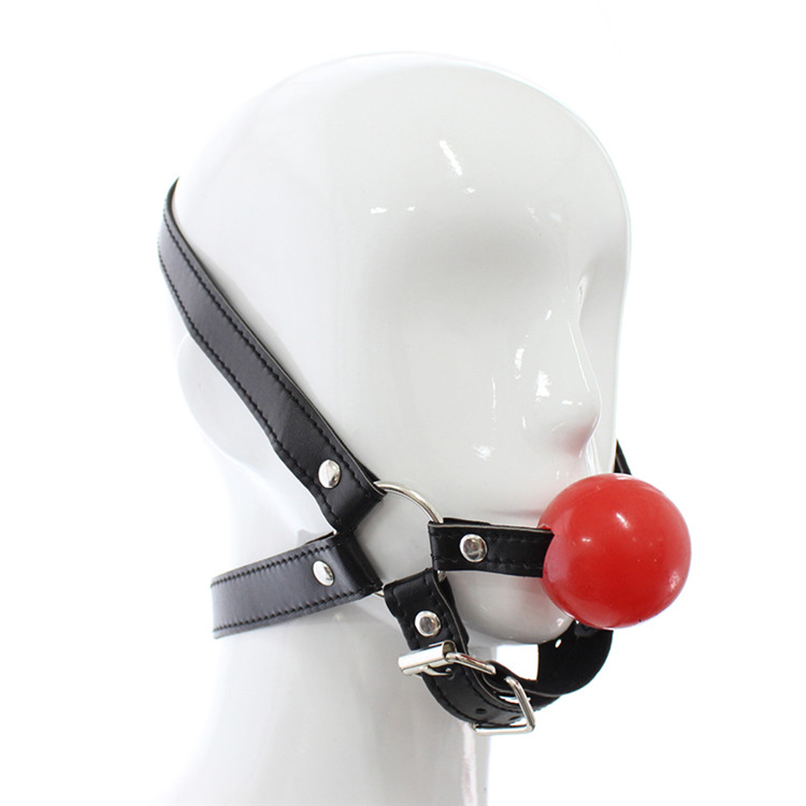 Silicone Ball Gag Sex Products Fetish Open Mouth Gag Sex Slave bdsm Bondage Restraints Erotic Sex Toys for Couples Adult Toys