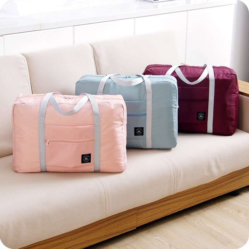 Travel Luggage Duffle Bag Lightweight Portable Handbag Camel Large Capacity Waterproof Foldable Storage Tote