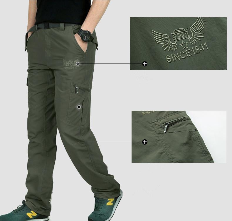 Çok fonksiyonlu taktik pantolonlar. avantajları