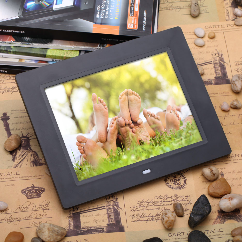 10 inch LCD Digital Photo Frame High Definition Electronic Album Suport Alarm Clock MP3 MP4 Movie Play Remote Control (22)