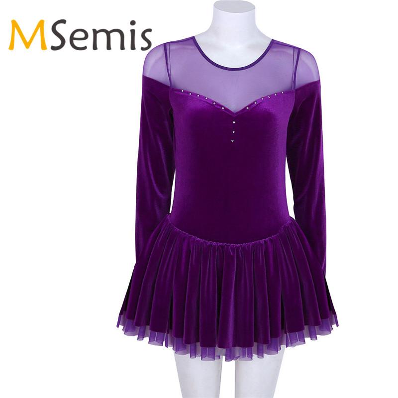 TiaoBug Femme Justaucorps de Danse Classique Ballet Gymnastique Dentelle Body Sport Yoga Combinaison /à 3//4 Manche Collant L/éotard Costume de Danse Bodysuit Dancewear XS-XL