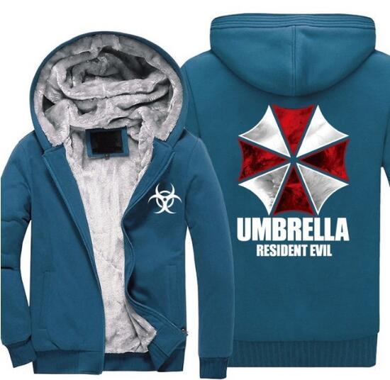 Resident Evil Hoodies Leon Scott Kennedy 3D Printed Pullover Cosplay Jacket Coat