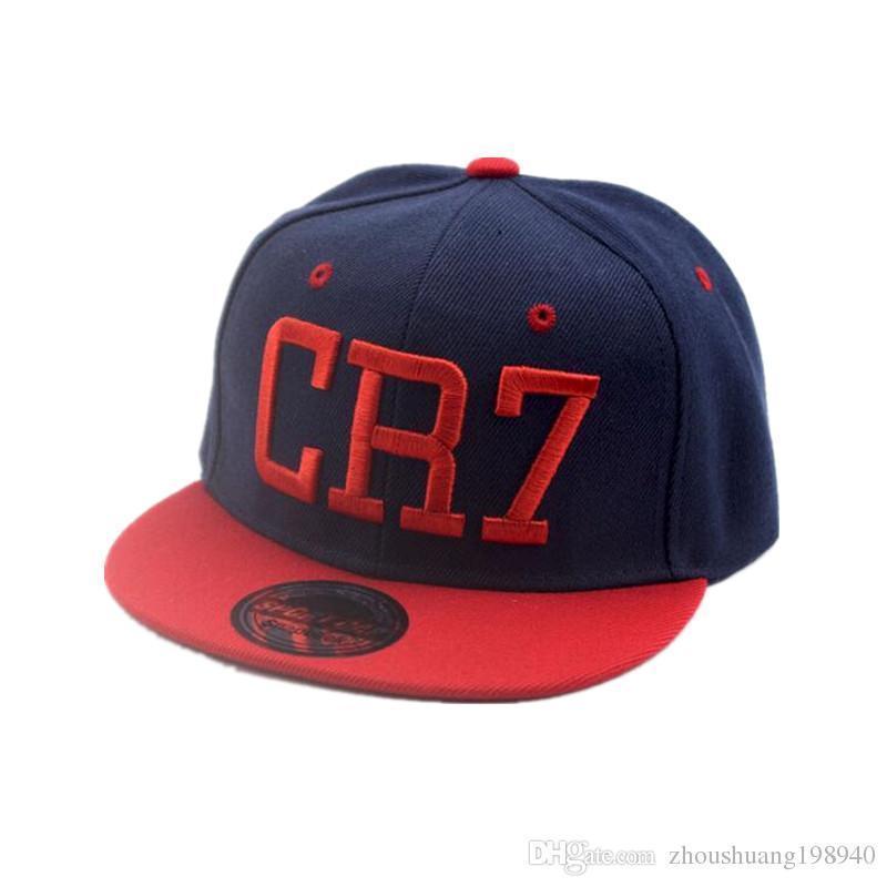Yeni Yaz Çocuk Ronaldo CR7 Beyzbol Şapkası Şapka Erkek Kız MESSI Snapback Şapkalar Çocuk Spor Neymar NJR Hip Hop Caps