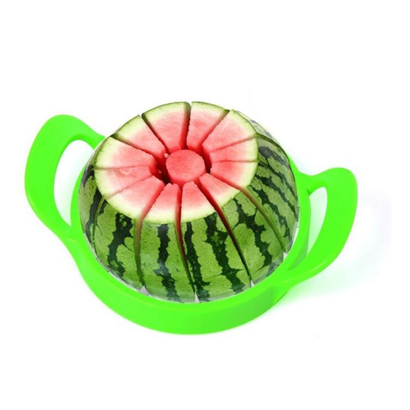 Stainless Steel Cutter Slicer Kitchen Tool New Fruit Watermelon Melon Cantaloupe