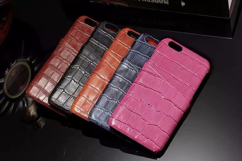 5 color real leather case for iPhone 6 6S Plus