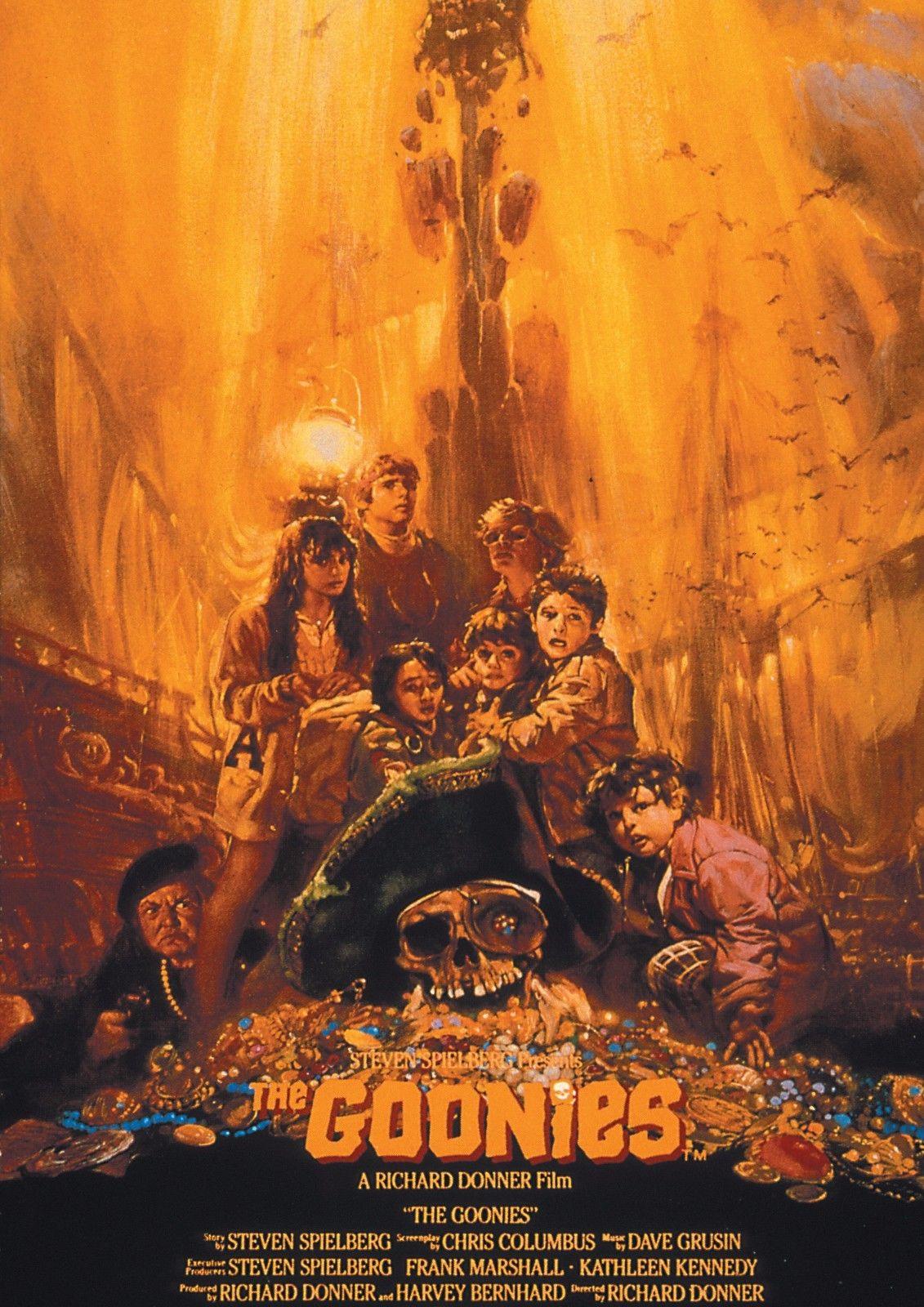 Goonies Movie Art Silk Poster 12x18 24x36