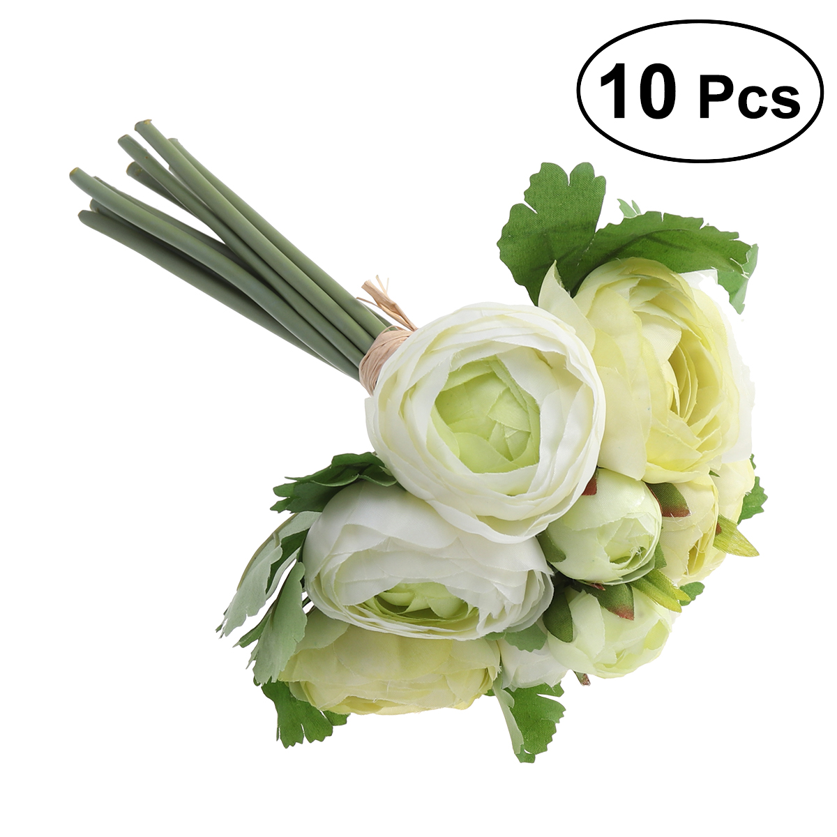 Artificial Flowers Camellia Bridal Wedding Bouquet Bridesmaid Bride Toss Bouquet Home Decoration