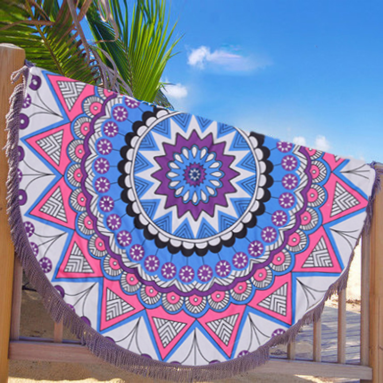 Round beach towel (1)