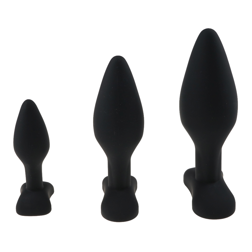 3 Dimensioni Anale Plug Butt Butt in silicone grande enorme anale perline giocattoli del sesso le donne spina anale unisex giocattoli erotici prodotti del sesso gli uomini D18111502