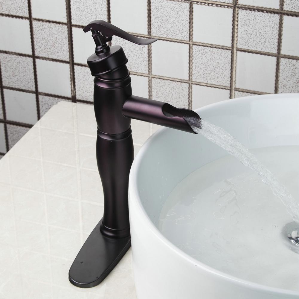 2018 Yanksmart Bamboo Style Bathroom Faucet Brass Oil Rubbed Bronze ...