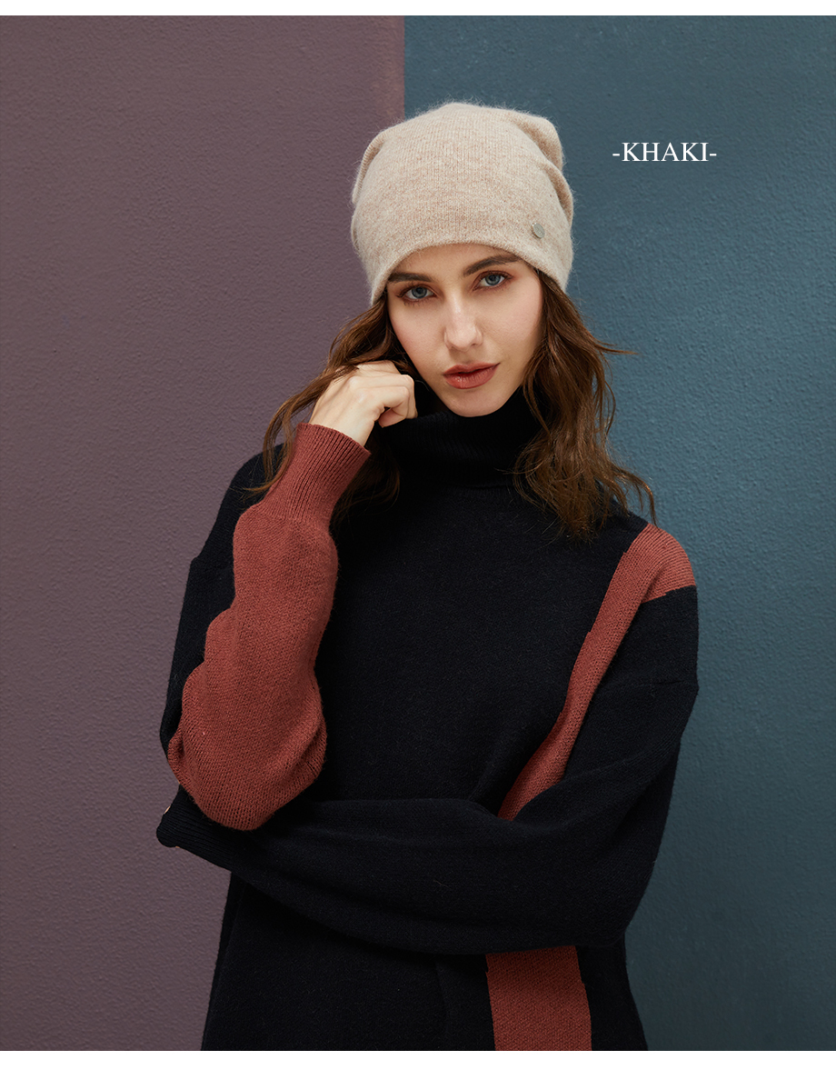 Winter Hats For Woman 2018 New Beanies Knitted Solid Cute Hat Girls Autumn Female Beanie Warmer Bonnet Ladies Casual Cap 8 Color (6)