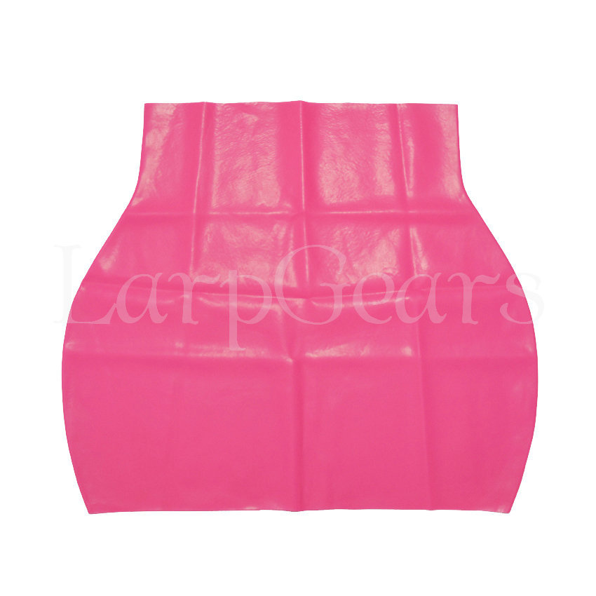 latex skirt pink-1.4