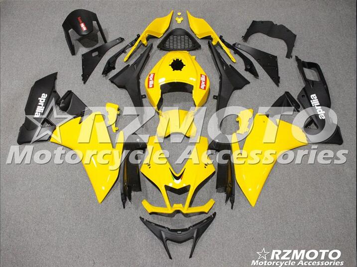 3 free gifts Complete Fairings For Aprilia RS4 50/125 2011 2012 2013 2014 2015 RS4 50/125 11 12 13 14 15 RS125 Yellow XX0