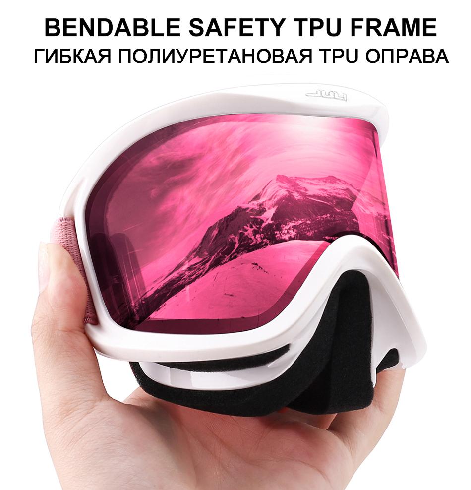 women\'s ski goggles