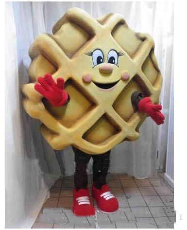 2018 High quality Waffle JM Smucker mascot costume custom fancy costume kits mascotte fancy dress carnival costume