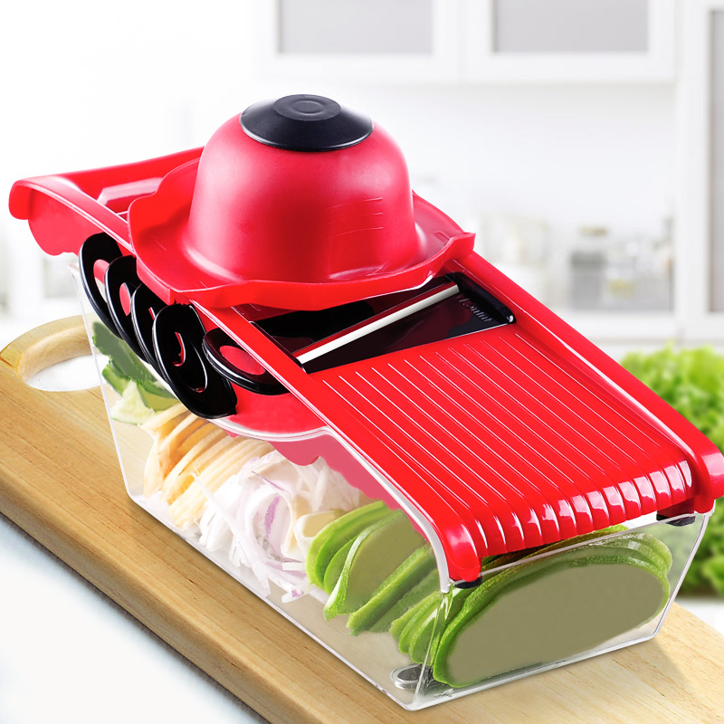 QuickDone-Creative-Mandoline-Slicer-Vegetable-Cutter-with-Stainless-Steel-Blade-Manual-Potato-Peeler-Carrot-Grater-Dicer (5)